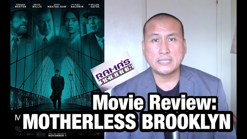 TIFF '19 Review Edward Norton's 'MOTHERLESS BROOKLYN' Movie Co Starring Bruce Willis