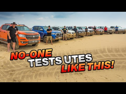 2020 4WD UTE COMPARISON 8 utes torture tested SHOCK winner Industry experts expose the truth