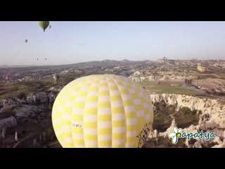 Hot air balloon. papatya tour
