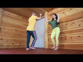 Меренге. Видео-урок #6.2.  Андрей и Наталья Корзун
