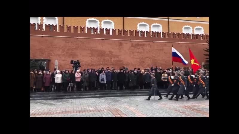Торжественный марш в честь 76 ой годовщины снятия блокады Ленинграда