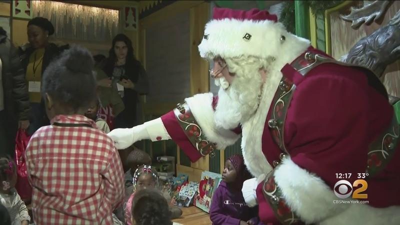 Homeless Children Get To Meet Santa In GivingTuesday Event