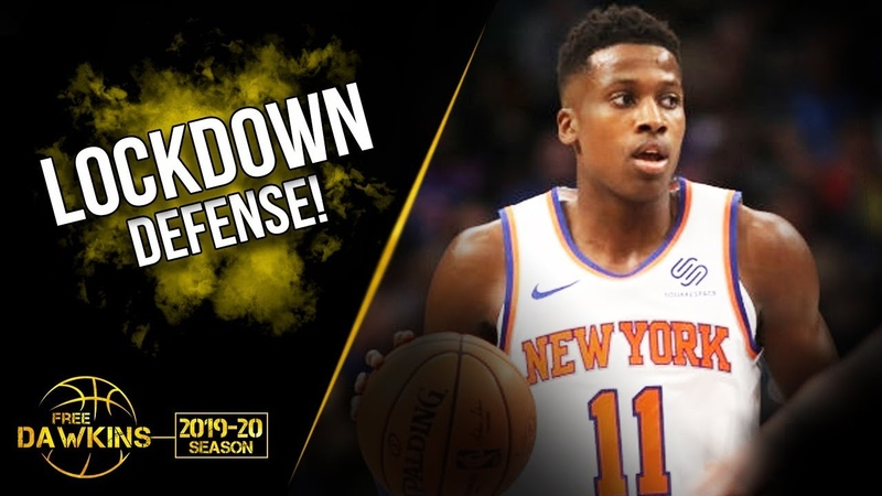 Frank Ntilikina Defensive Offensive Play vs Mavs | Nov 8, 2019 | LOCK Down D! | FreeDawkins