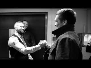 Теплая встреча Усика, Белью и Ломаченко   FightSpace