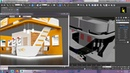 Tutorial on Modeling texturing and lighting a 3d stall in 3ds max using Vray Part 3