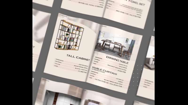 Буклет для Asia trans Furniture