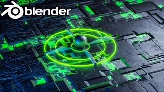 Blender - Hard Surface landscape in Eevee & Cycles Blender