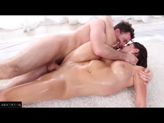 James Deen, Leah Gotti Premium, Brunettes, Cumshot in mouth, In oil, Shaved, Dildo and vibrator, Female athletes]