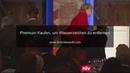 Angela Merkel übersieht Treppe stolpert und stürzt fast zu Boden
