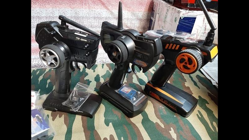 Minireview season2020 Аппаратуры управления HPI HobbyKing FlySky Шипованные колеса и куча мелочи