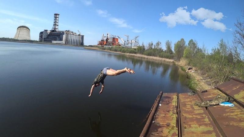 Искупался в реке Припять Подвал медсанчасти 126 Самое радиоактивное место в Чернобыле