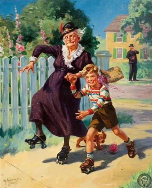 Как воспитывать внуков: пособие для бабушек от отца и сына Хинтермайстеров.