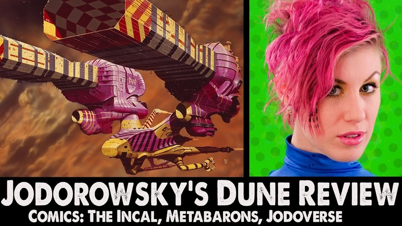 Ep71 Jodorowsky's Dune Review The Jodoverse Comics The Incal Metaberons