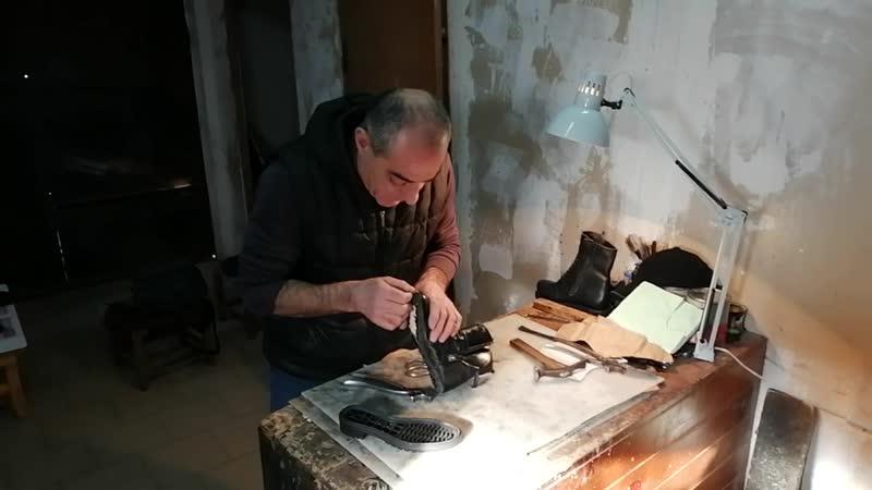 Вартан Бадирян обувщик из станицы Марьянской