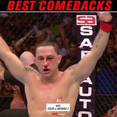 "UFC Fight Pass on Instagram 5 @frankieedgar KOs Gray Maynard in their trilogy fight at UFC 136 VS 13 António Rodrigo Nogueira armbars Mirko Crop Cop at PRIDE…"""