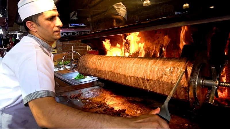 TURKISH STREET FOOD Youve NEVER Seen this Before KEBAB HEAVEN Street Food in Izmir Turkey