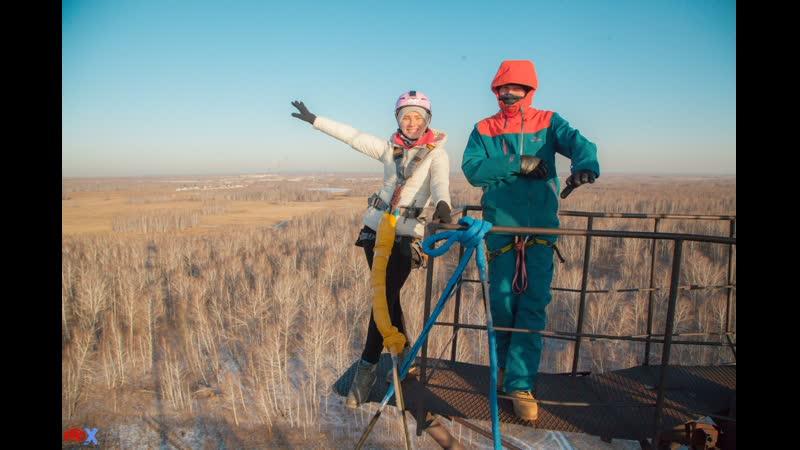 Darya K. прыжок FreeFallProX команда ProX74 объект AT53 Chelyabinsk 2019 1 jump RopeJumping