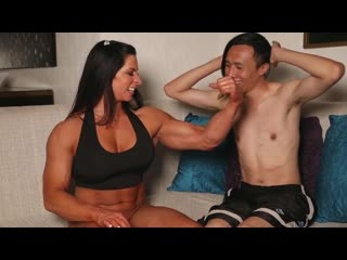 Webcam Special Show - Angela Salvagno - Female Muscle ]