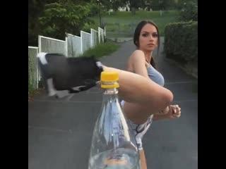 Bottle cup challenge