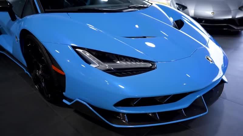Самая дорогая Ламба в мире 140 млн рублей за 770 сильную Lamborghini Centenari