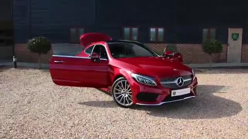Mercedes Benz C300 AMG Line Premium Plus 2dr Coupe finished in Metallic Hyacinth