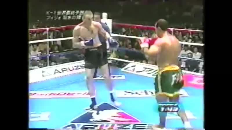 17 2001 10 08 Francisco Filho vs Sergei Ivanovich K 1 World Grand Prix 2001 in Fukuoka Semi Finals
