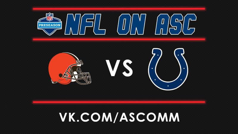 NFL Browns VS Colts