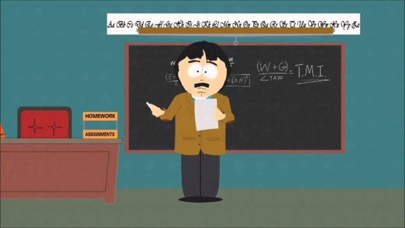 Randy Marsh and the penis equation