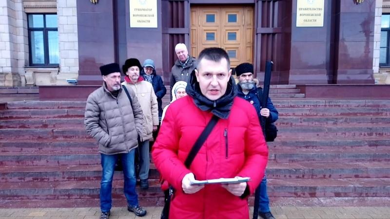 Губернатор Гусев не увидел 133 тыс подписей против добычи никеля, переданных ему. Обращение к Гусеву