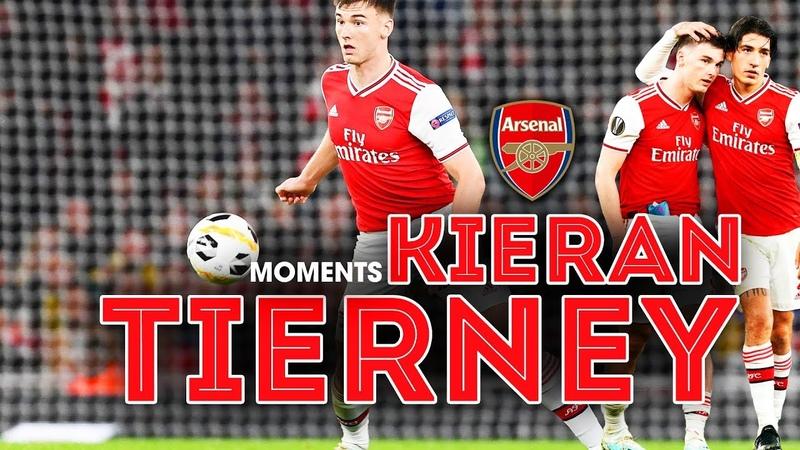 🔥Kieran Tierney - ẩn số cánh trái ⚽ Moments - Tackles - Assits Tierney Arsenal Gunners