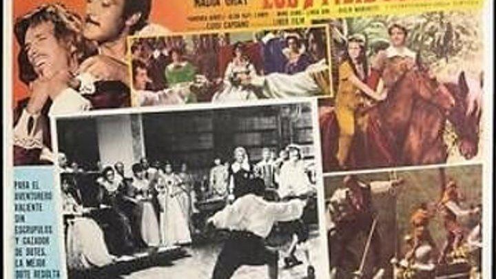 LOS SIETE FILIBUSTEROS 1965 de Luigi Capuano con Rick Bataglia Guy Madison Inger Schoner Nadia Gray by Refasi
