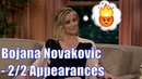 Bojana Novakovic Gets Genuinely Mad At Craig 2 2 Appearances In Chron Order 1080