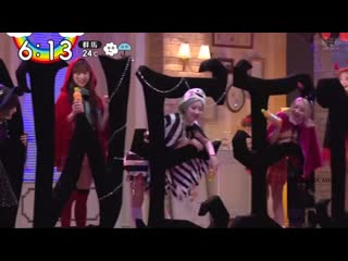 Twice appeared on zip tv japan this morning in their qoo halloween behind the scenes clips
