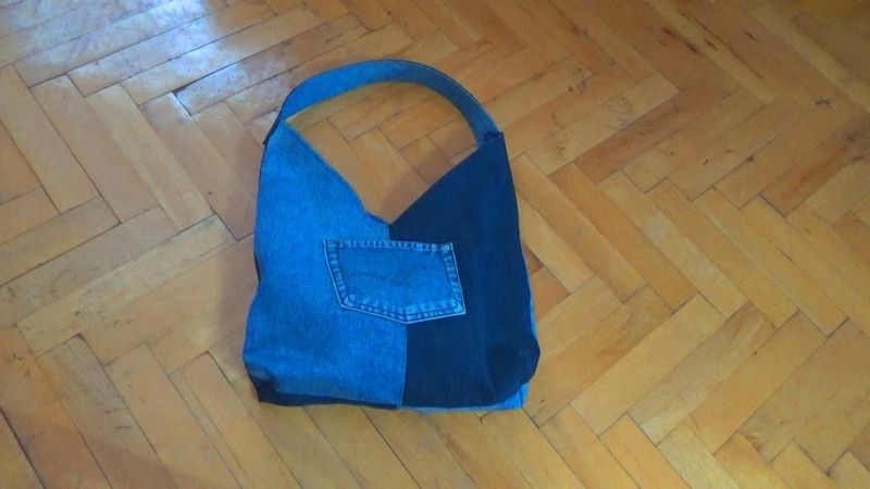 Buki   Jeans Bag Making   Eski Kottan Çanta Yapımı