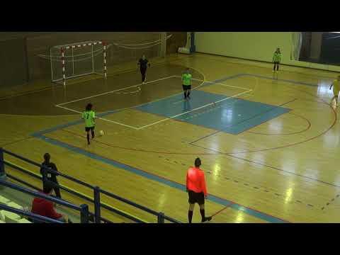 Campeonato Distrital Futsal Júnior Feminino 2ª Jornada Play off Machados vs S Lagos e Benfica