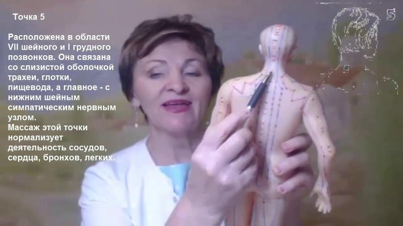 Точечный массаж по Уманской