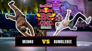 B-Boy Menno vs B-Boy Bumblebee | Top 8 | Red Bull BC One World Final Mumbai 2019