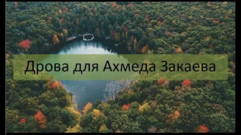 Дрова для Ахмеда Закаева