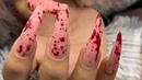 My Client Left Her Appt Bleeding 💉 Easy Blood Splatter Halloween Nails