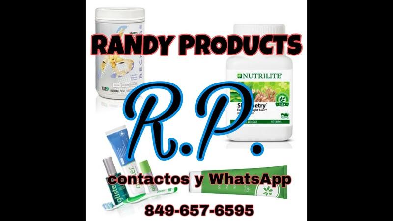 RANDY PRODUCTS Distribuidor Exclusivo y Certificado