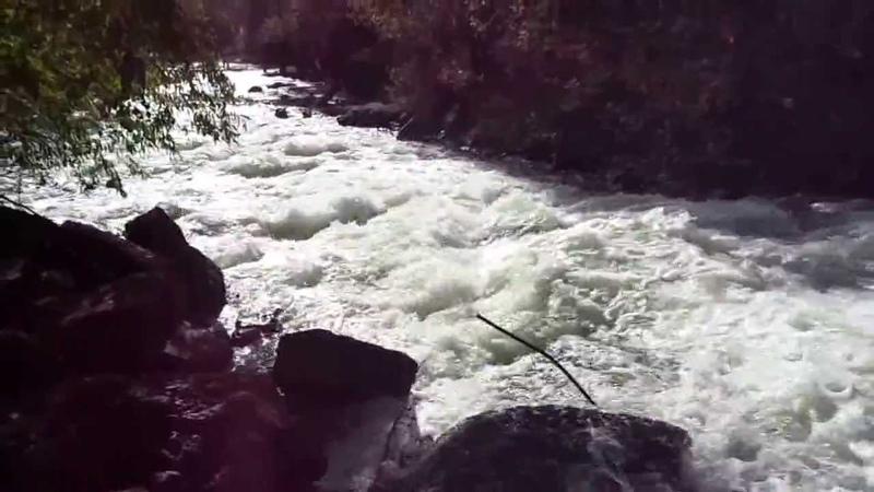 Уфа. Инорс. Водопад из озера Теплое в Уфимку.
