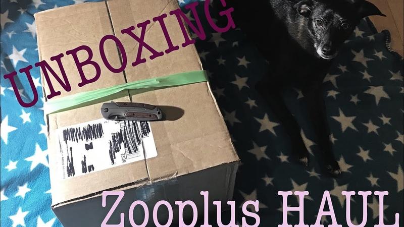 Zooplus HAUL || Unboxing || Распаковка посылки для животных