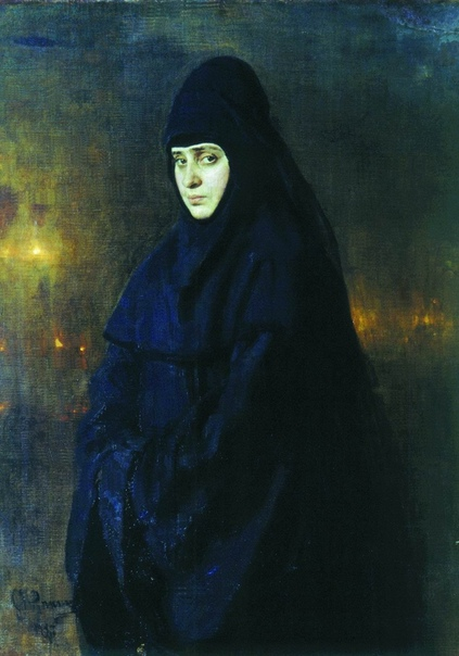Тайны старых картин  «Монахиня» Ильи Репина
