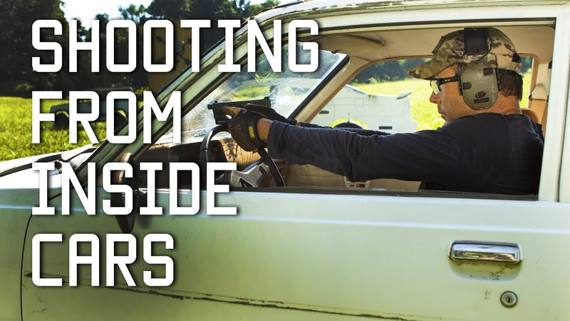 How to Shoot From Inside a Car | Through Windshield | Tactical Rifleman