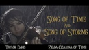 Song of Time and Song of Storms Zelda OoT Violin Cover Taylor Davis