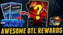 WWE Supercard 196 [RUS] Awesome Over the limit rewards TBG and SS'19 KOTR packs