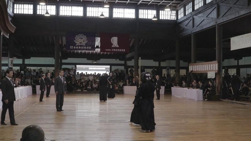 Eiga vs Okamoto - 115th Kyoto Enbu Taikai (2019) - 8th Dan Kyoshi no Bu