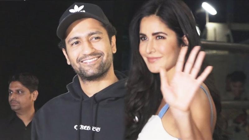 Katrina Kaif And Vicky Kaushal At The Zoya Factor Screening