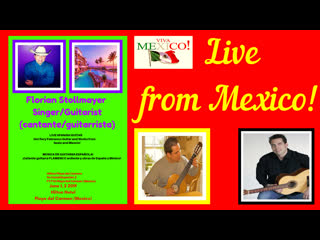 Live from Playa del Carmen (MEXICO) # Mexican and Flamenco Guitar by Florian Stollmayer June 1, 2019