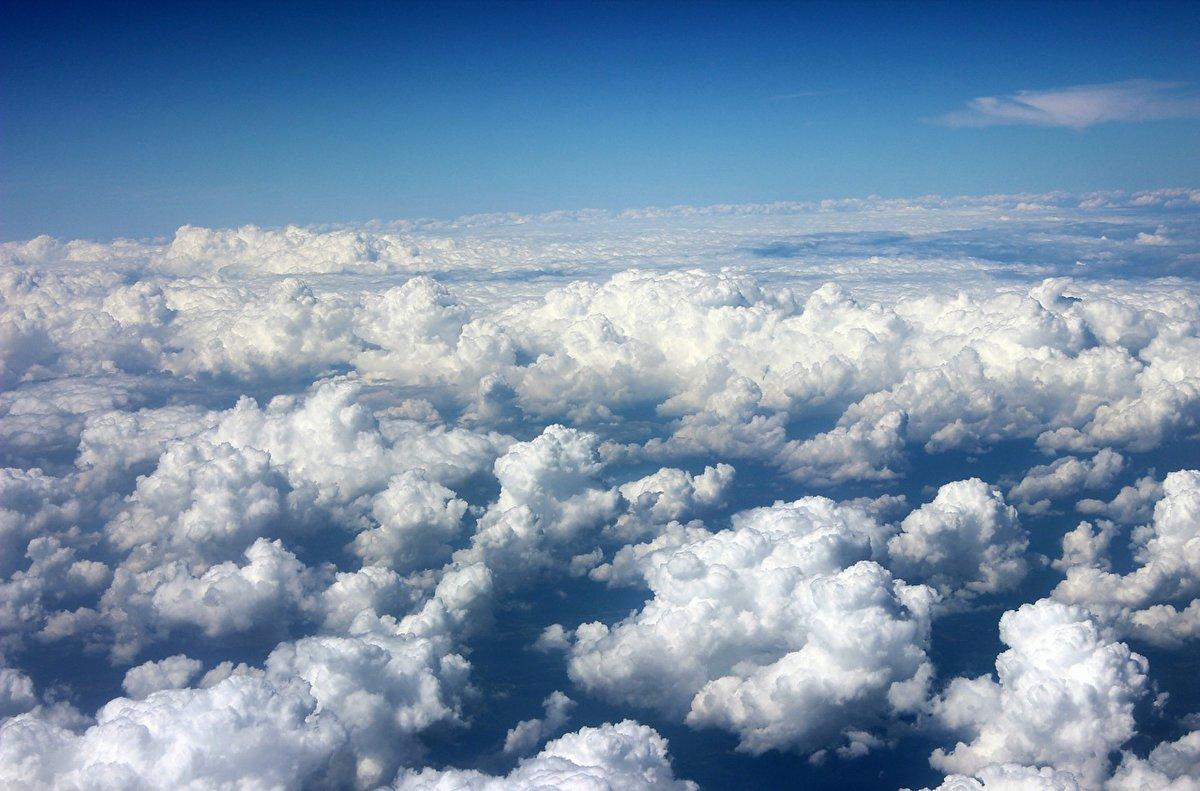 За облаками, за миром поднебесным